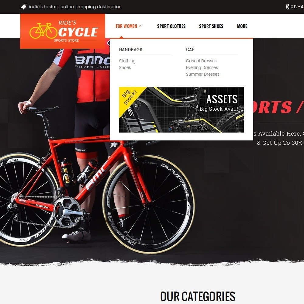 theme - Sports, Activities & Travel - Sports Bicycle - 9