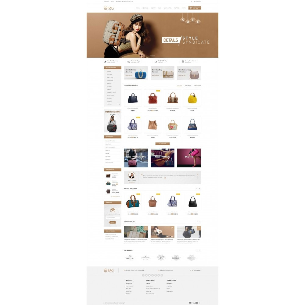 theme - Mode & Chaussures - Bag Shop - 2