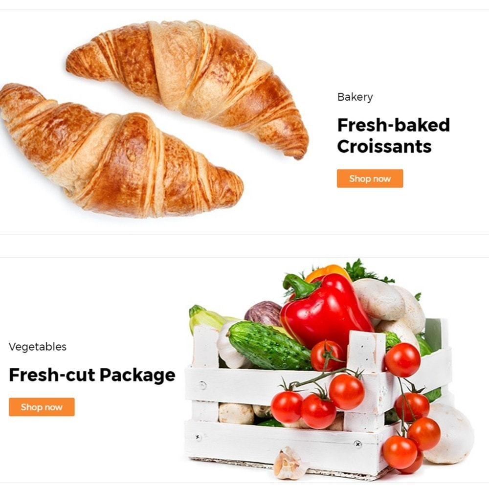 theme - Lebensmittel & Restaurants - FlexMarket - 4