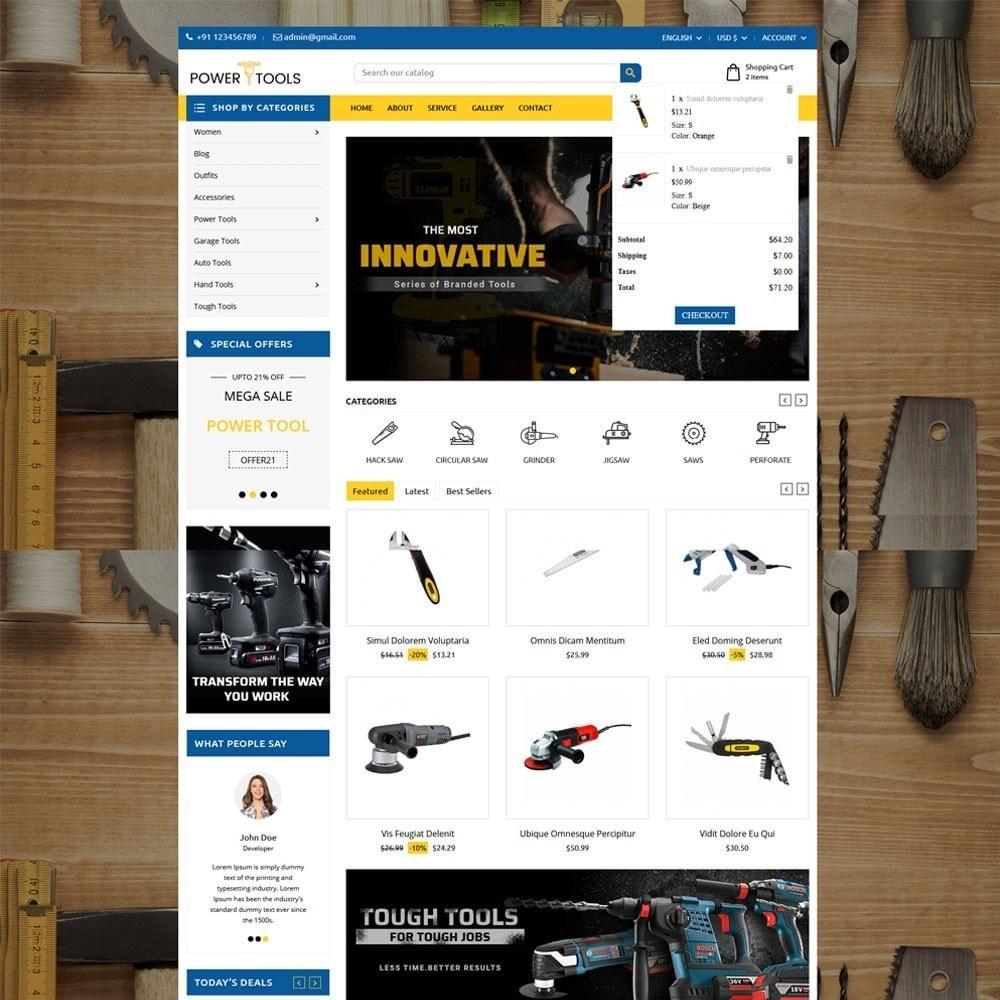 theme - Auto & Moto - Power Tools - 3