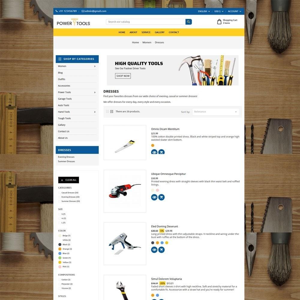 theme - Auto & Moto - Power Tools - 5