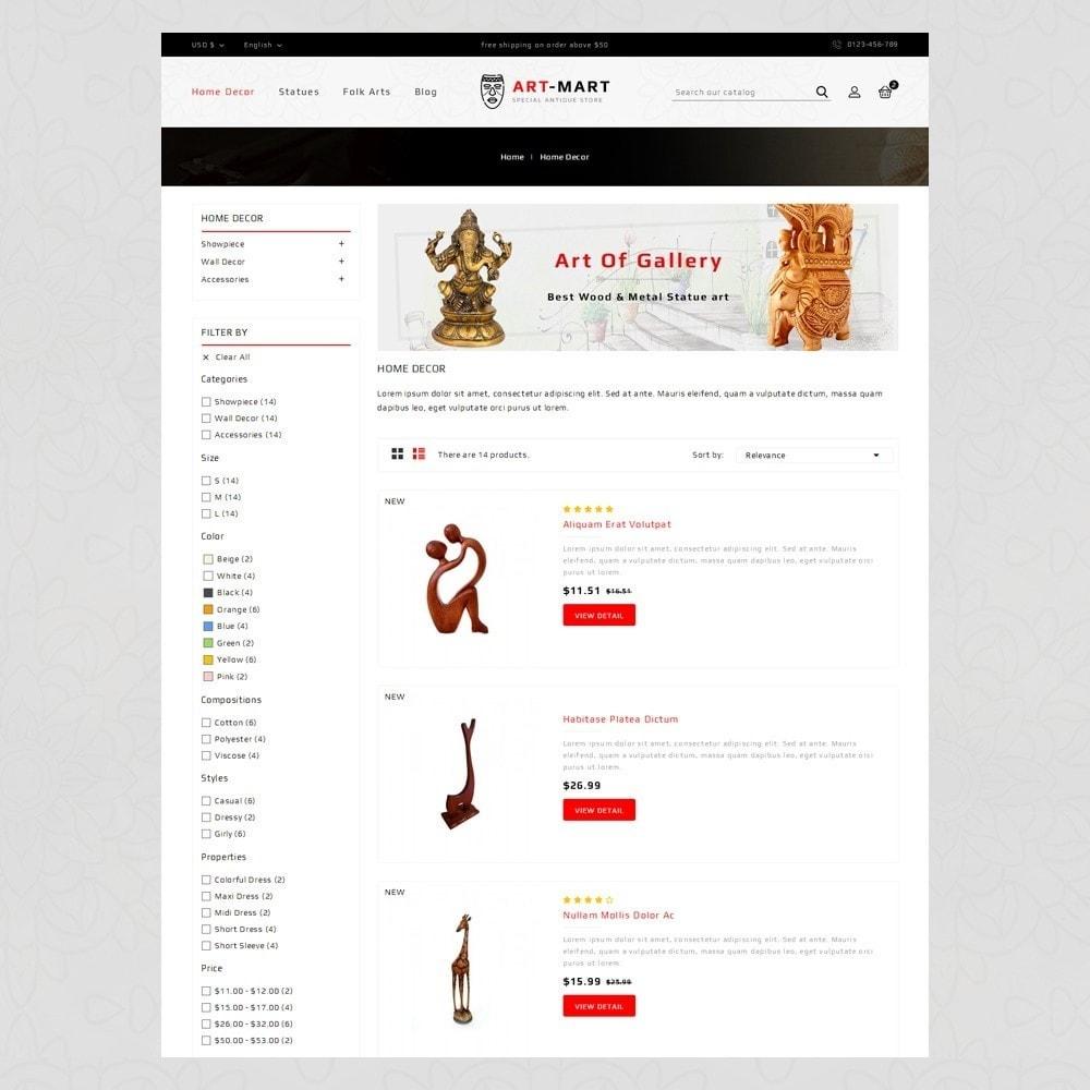 theme - Arte & Cultura - Art Mart - Online Store - 4