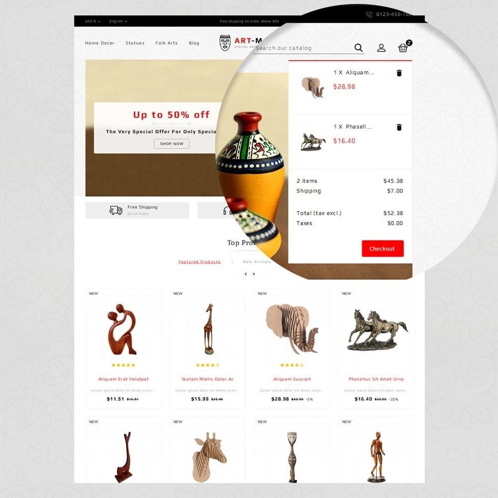 theme - Arte & Cultura - Art Mart - Online Store - 9
