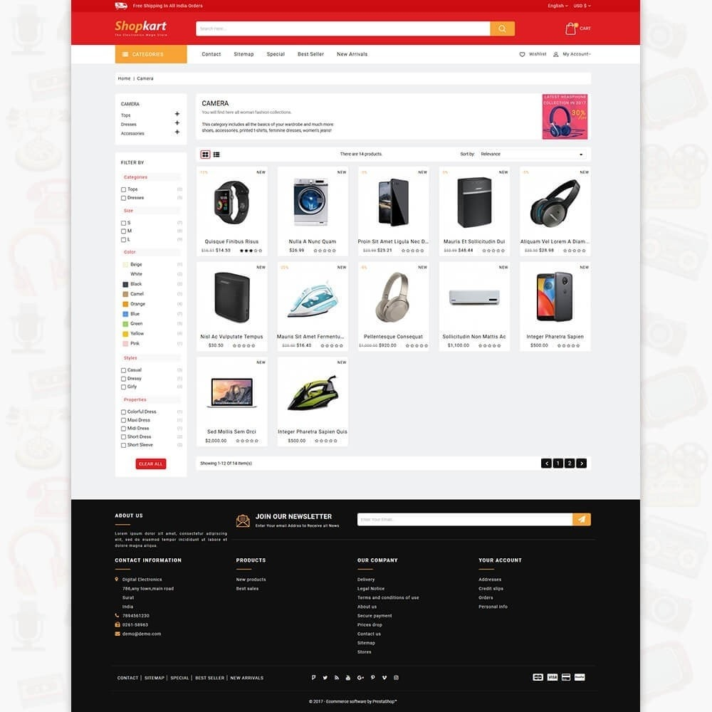 theme - Elektronik & High Tech - ShopKart - The Electronics Store - 3
