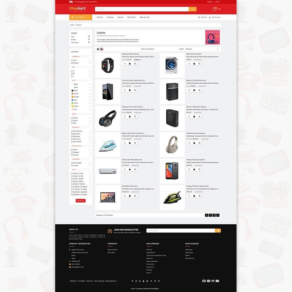 theme - Elektronik & High Tech - ShopKart - The Electronics Store - 4