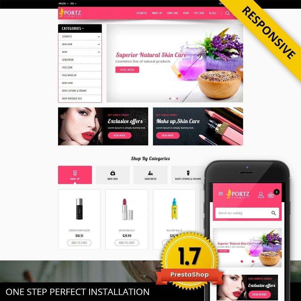 theme - Salute & Bellezza - Portz - Cosmetic Store - 1