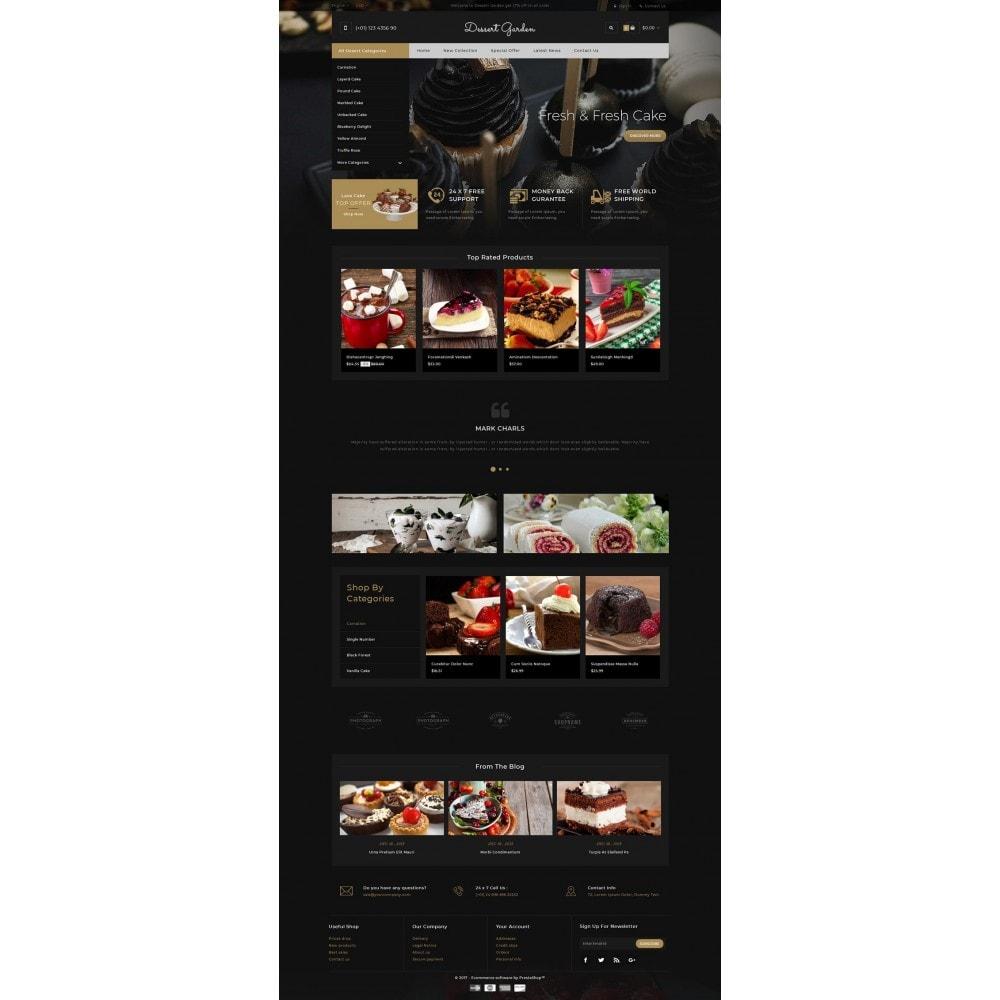 theme - Żywność & Restauracje - Dessert Garden - Bakery Store - 2