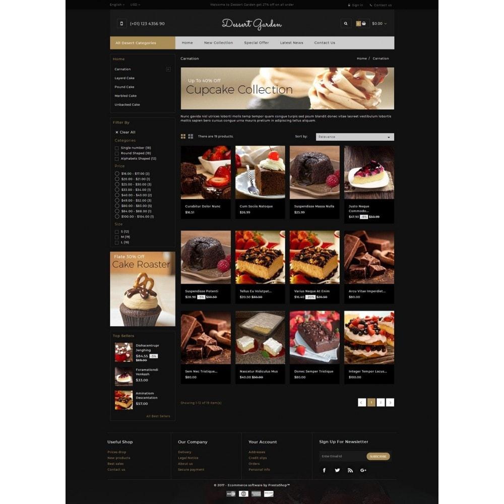 theme - Food & Restaurant - Dessert Garden - Bakery Store - 3