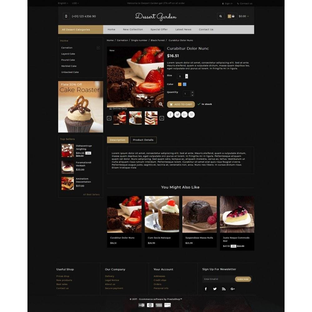 theme - Food & Restaurant - Dessert Garden - Bakery Store - 5