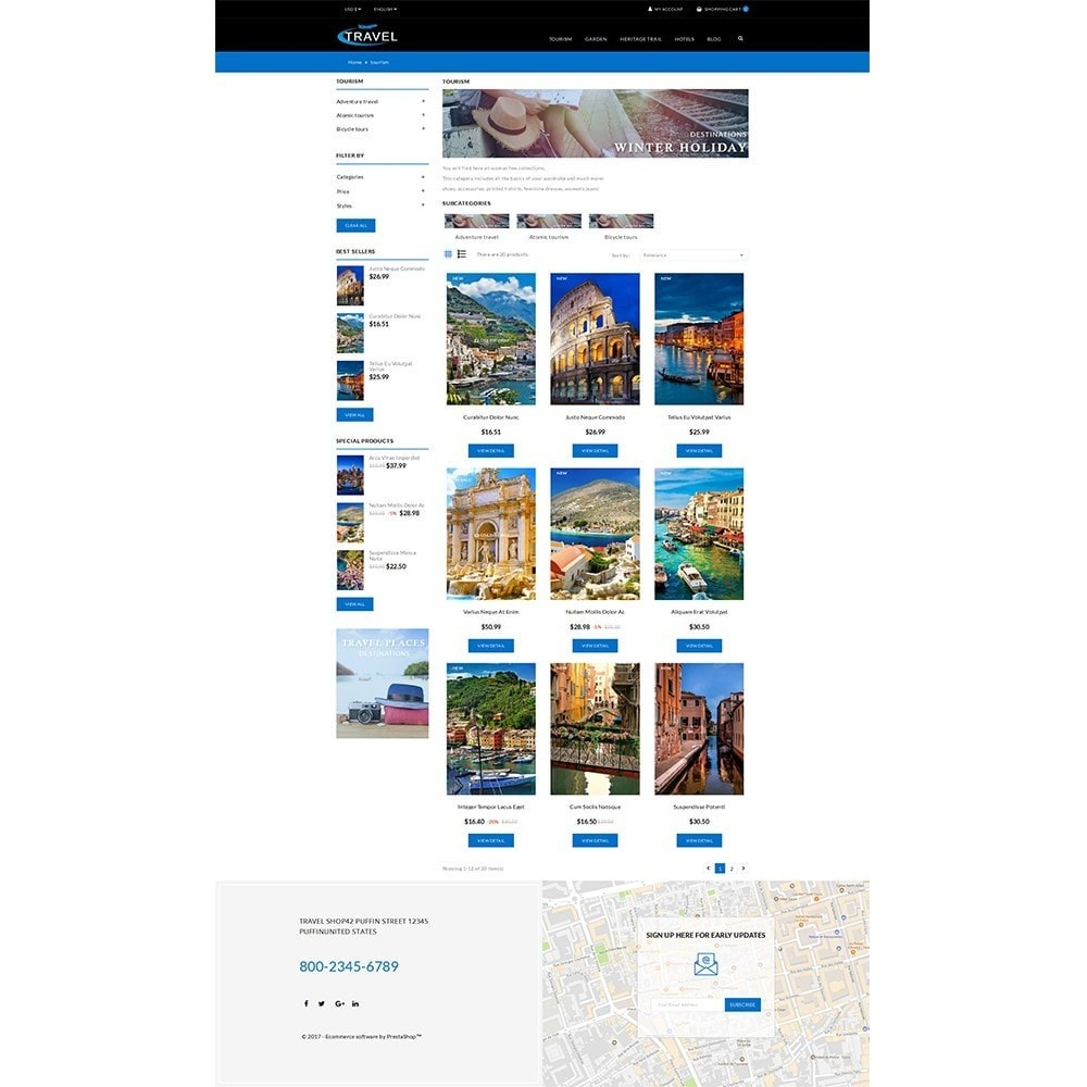 theme - Sports, Activities & Travel - Travel Shop - 3