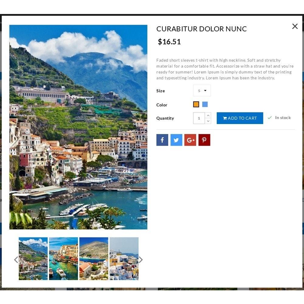 theme - Desporto, Actividades & Viagens - Travel Shop - 6