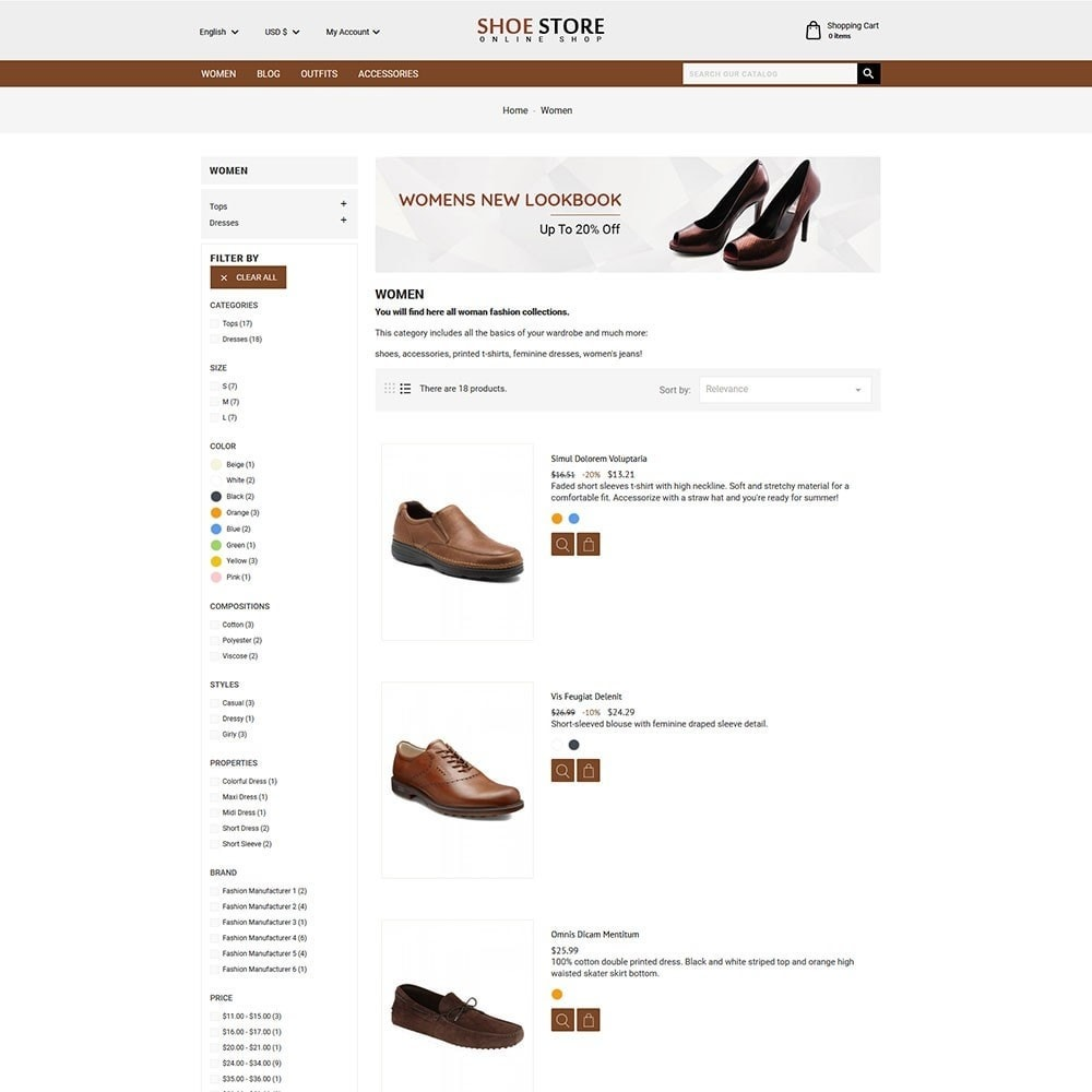 theme - Moda & Calzature - Shoe Store - 3