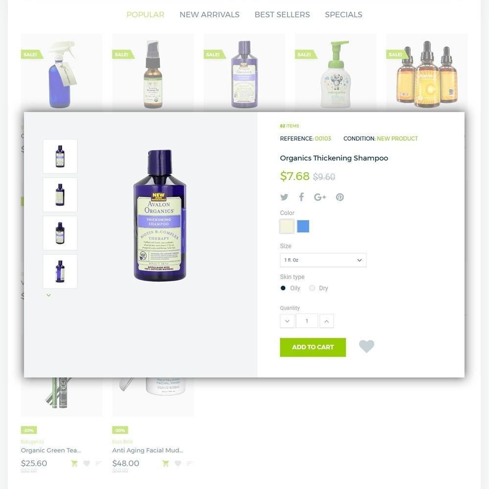 theme - Santé & Beauté - Organic cosmetics - 5