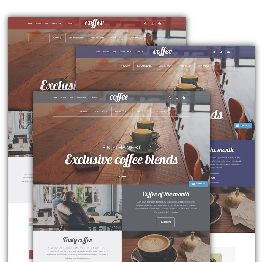 theme - Lebensmittel & Restaurants - Coffee - Coffee Shop Template - 2
