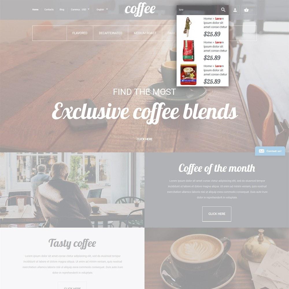 theme - Продовольствие и рестораны - Coffee - шаблон на тему магазин кофе - 6