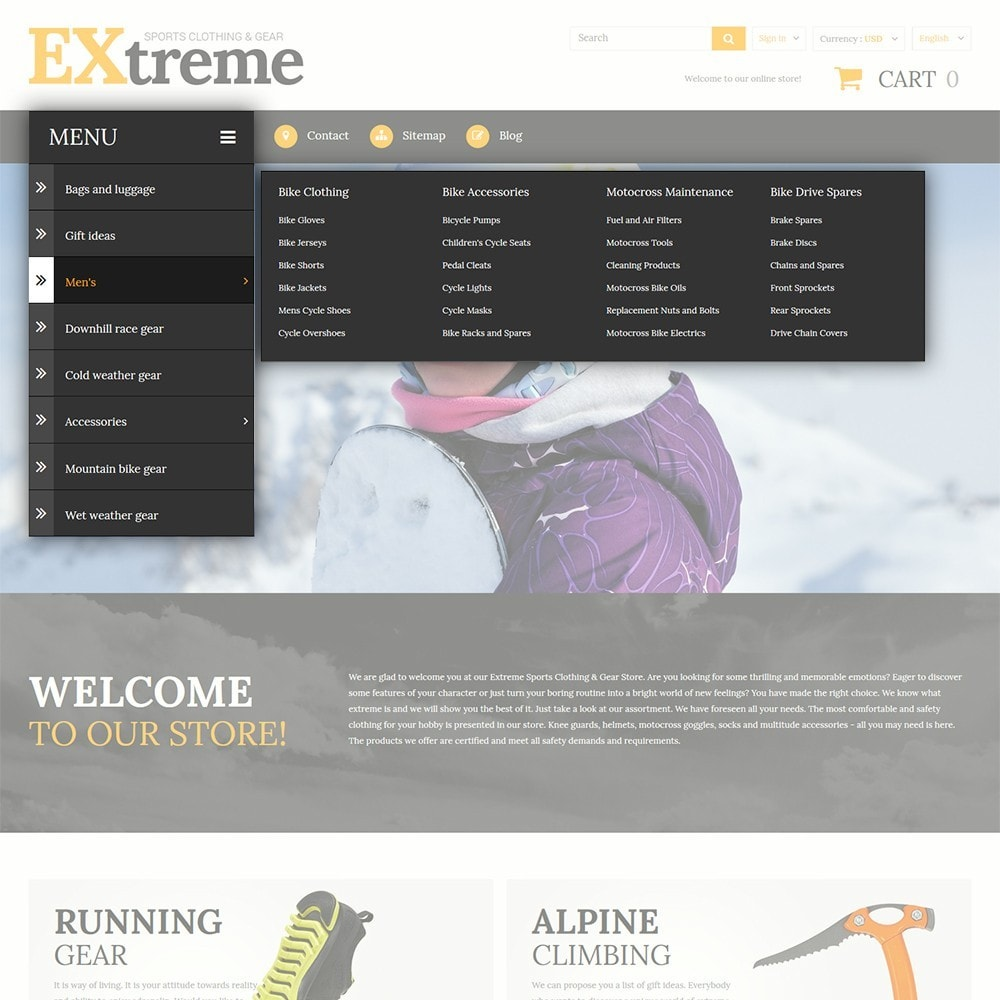 theme - Sports, Activities & Travel - Extreme Sports Clothing - 4