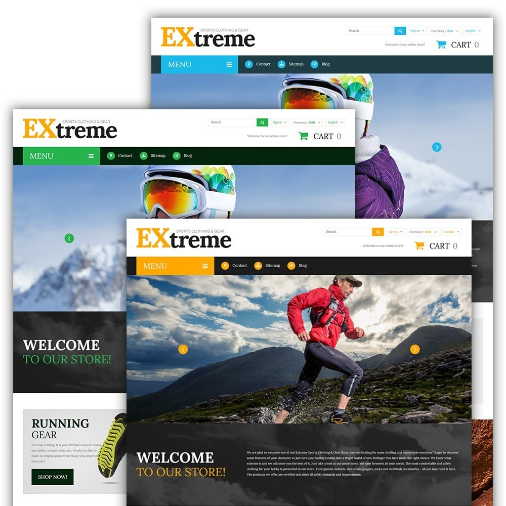 theme - Sport, Loisirs & Voyage - Extreme Sports Clothing - 2