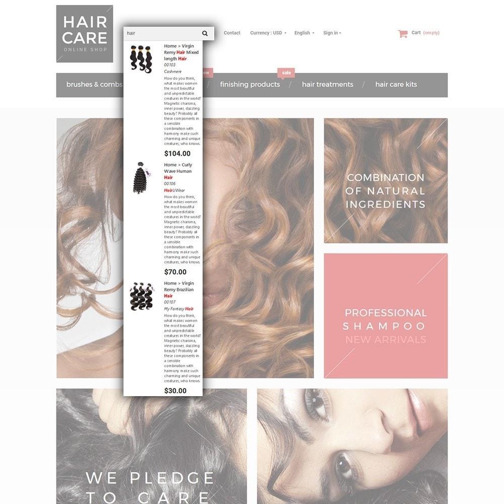 theme - Salud y Belleza - Hair Care - para Sitio de Peluquerías - 7
