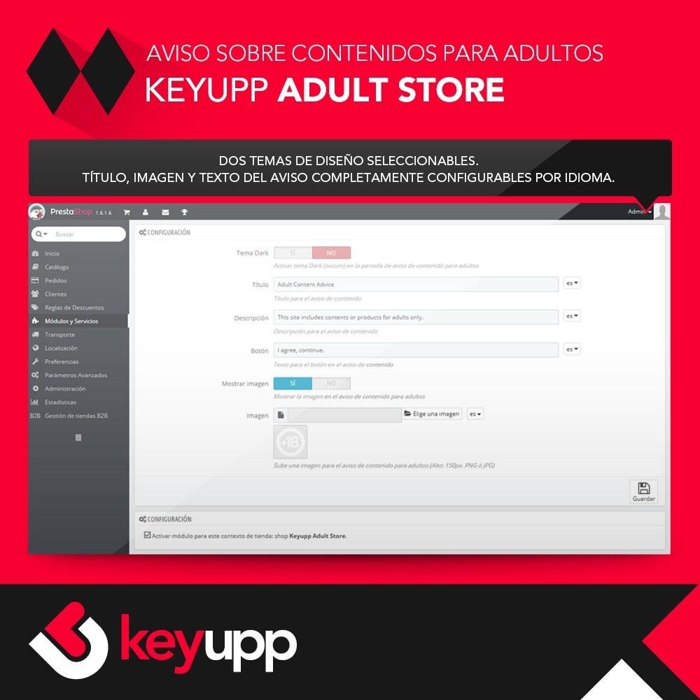 module - Seguridad y Accesos - Aviso de contenido para adultos - 2