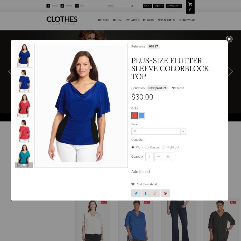 theme - Moda & Calzature - Clothes Plus Size - Femminile Size Plus - 3