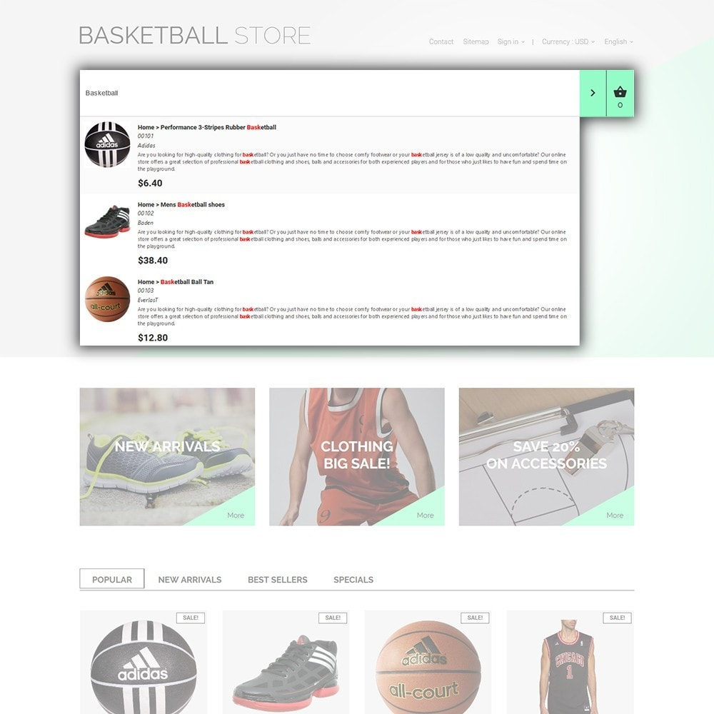 theme - Sport, Loisirs & Voyage - Basketball Store - 6