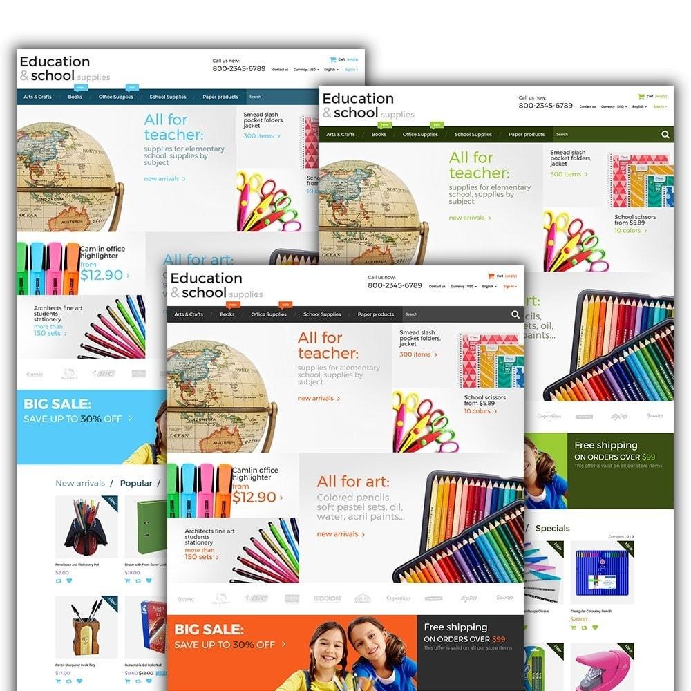 theme - Дом и сад - Education  School Supplies - 2