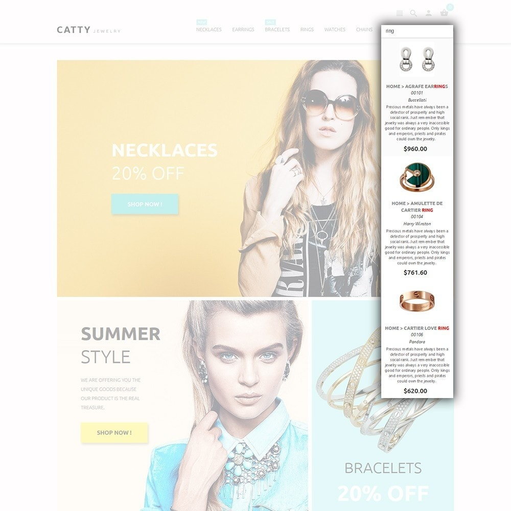 theme - Moda & Calzature - Catty Jewelry - 6
