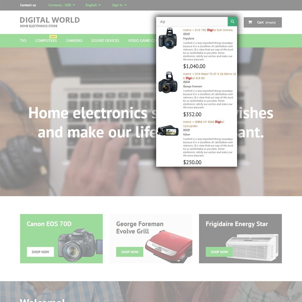 theme - Electronique & High Tech - Digital World - 6