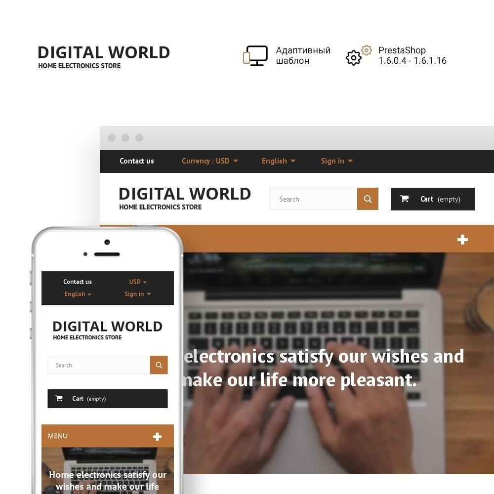 theme - Электроника и компьютеры - Digital World - 1