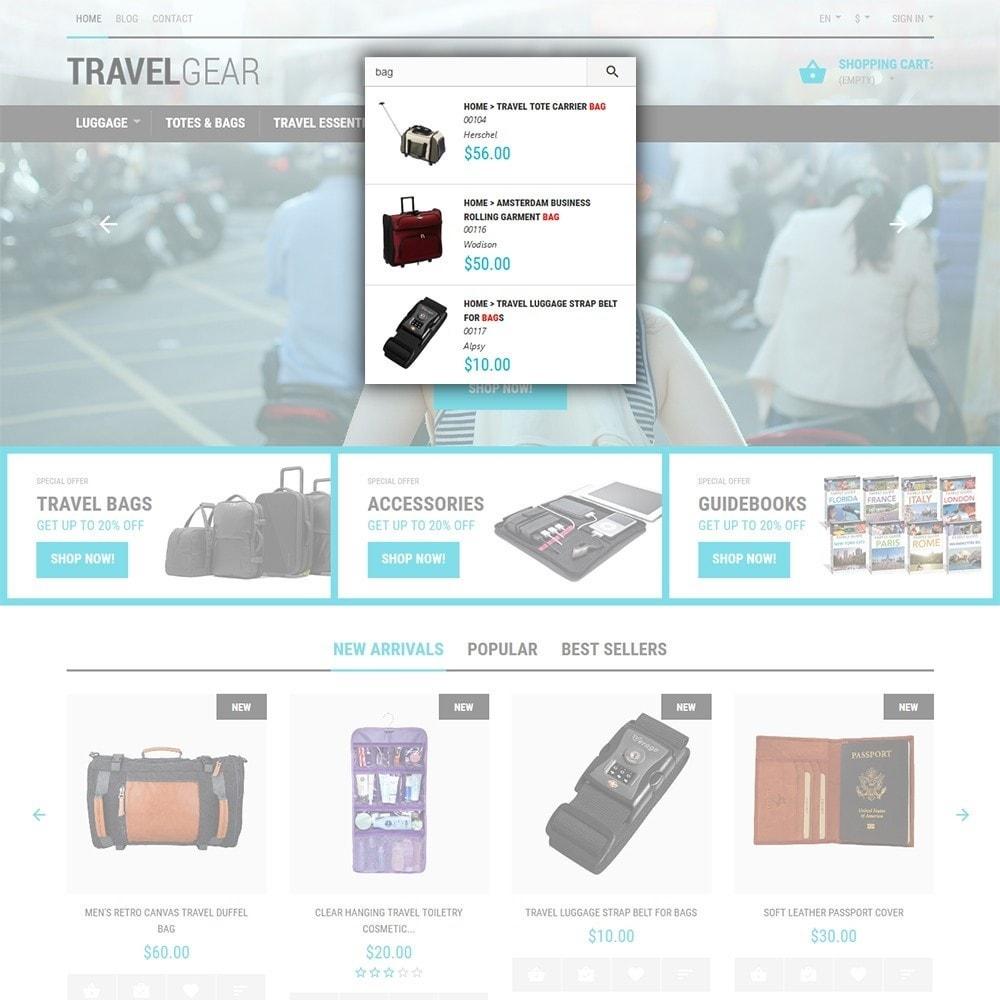 theme - Спорт и Путешествия - Travel Gear - шаблон на тему путешествия - 6