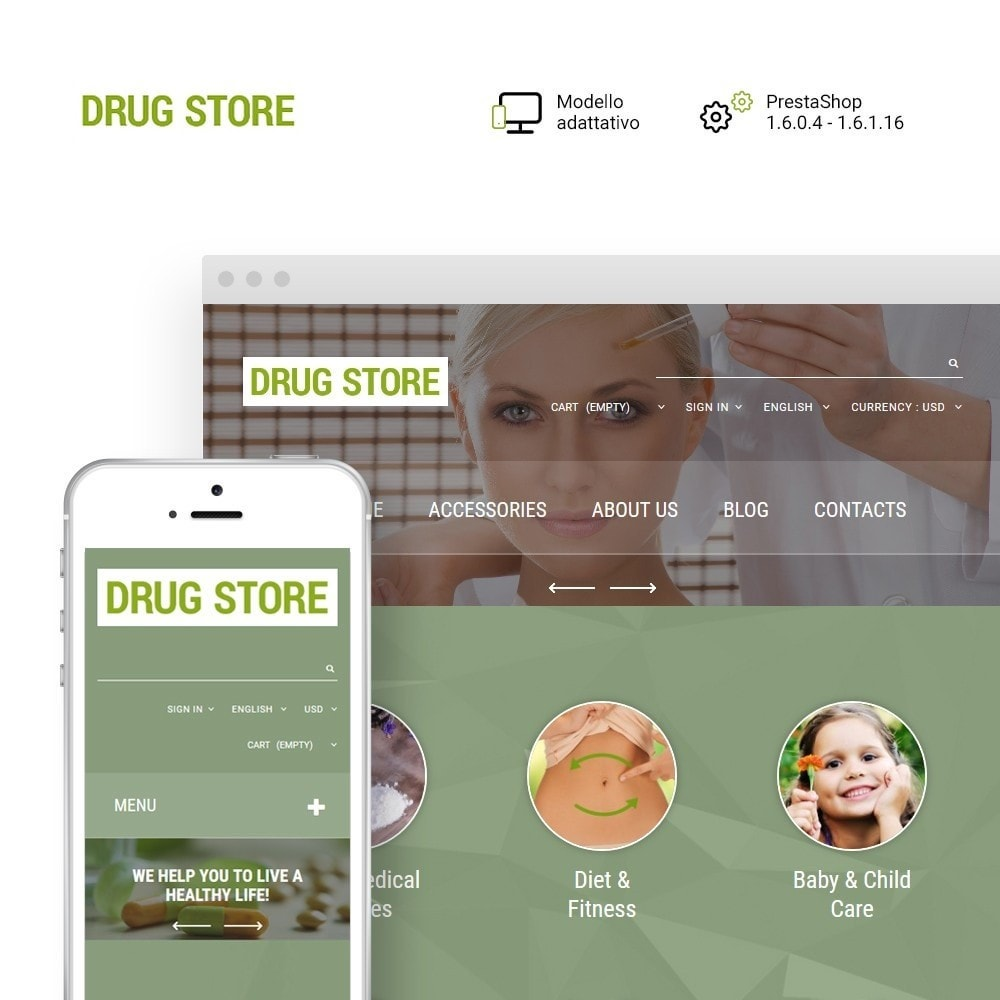 theme - Salute & Bellezza - Drug Store - 1