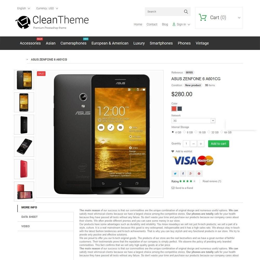 theme - Electrónica e High Tech - Clean Theme - 3