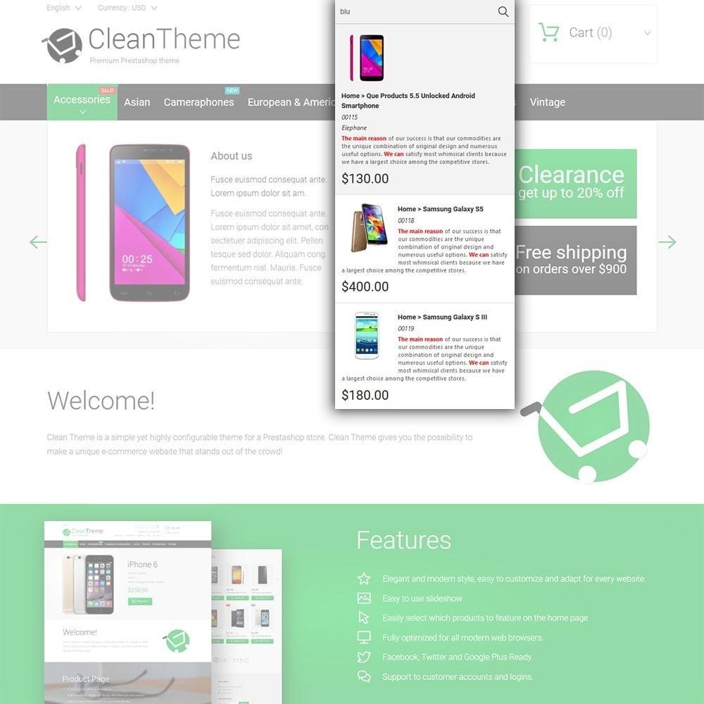 theme - Электроника и компьютеры - Clean Theme - 6