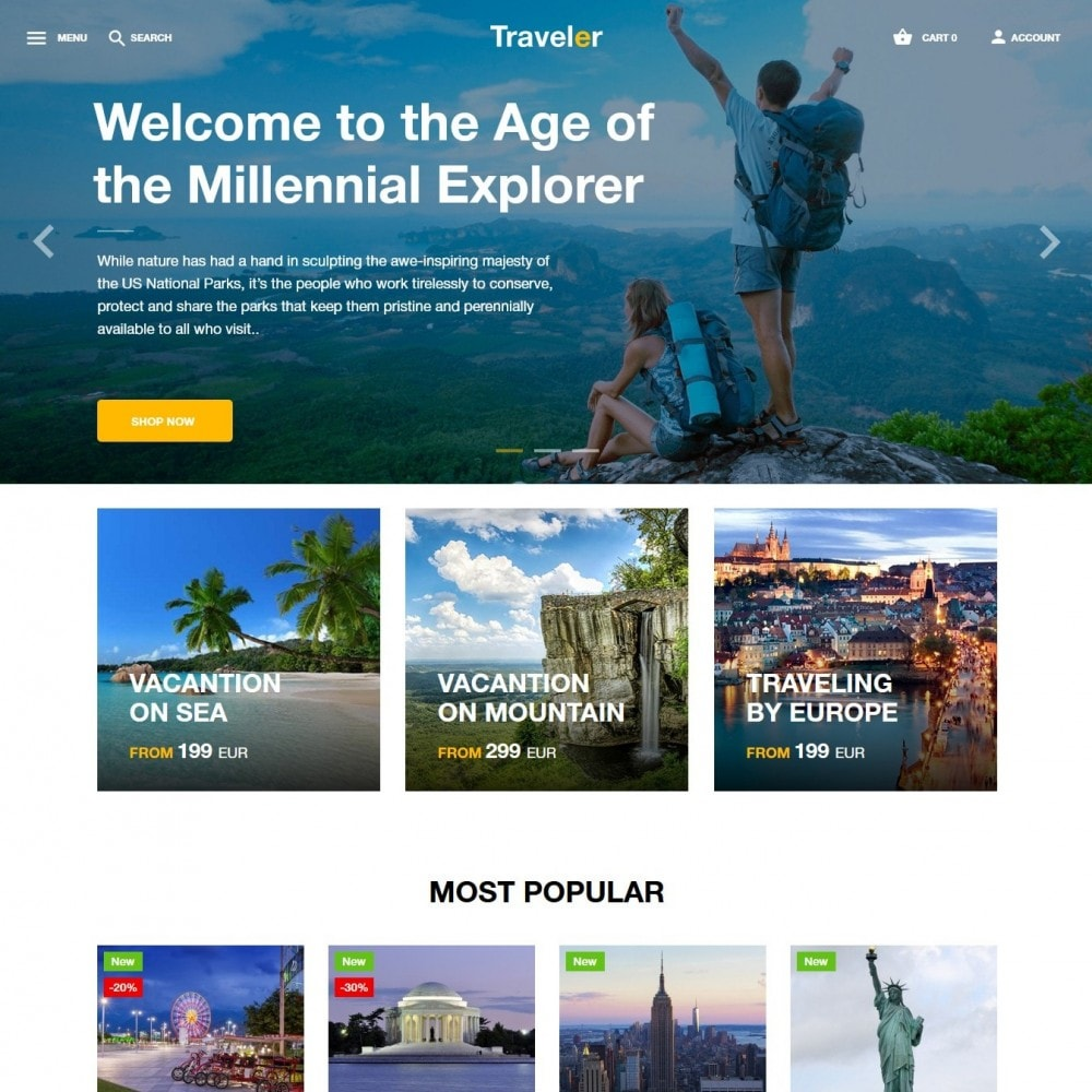 theme - Sports, Activities & Travel - Traveler - 2