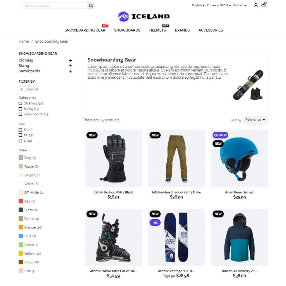 theme - Sports, Activities & Travel - IceLand - 6