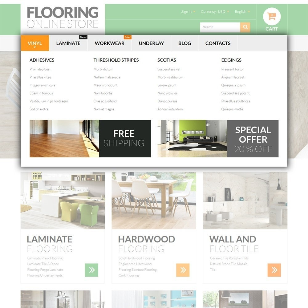 theme - Arte y Cultura - Flooring Online Store - 5