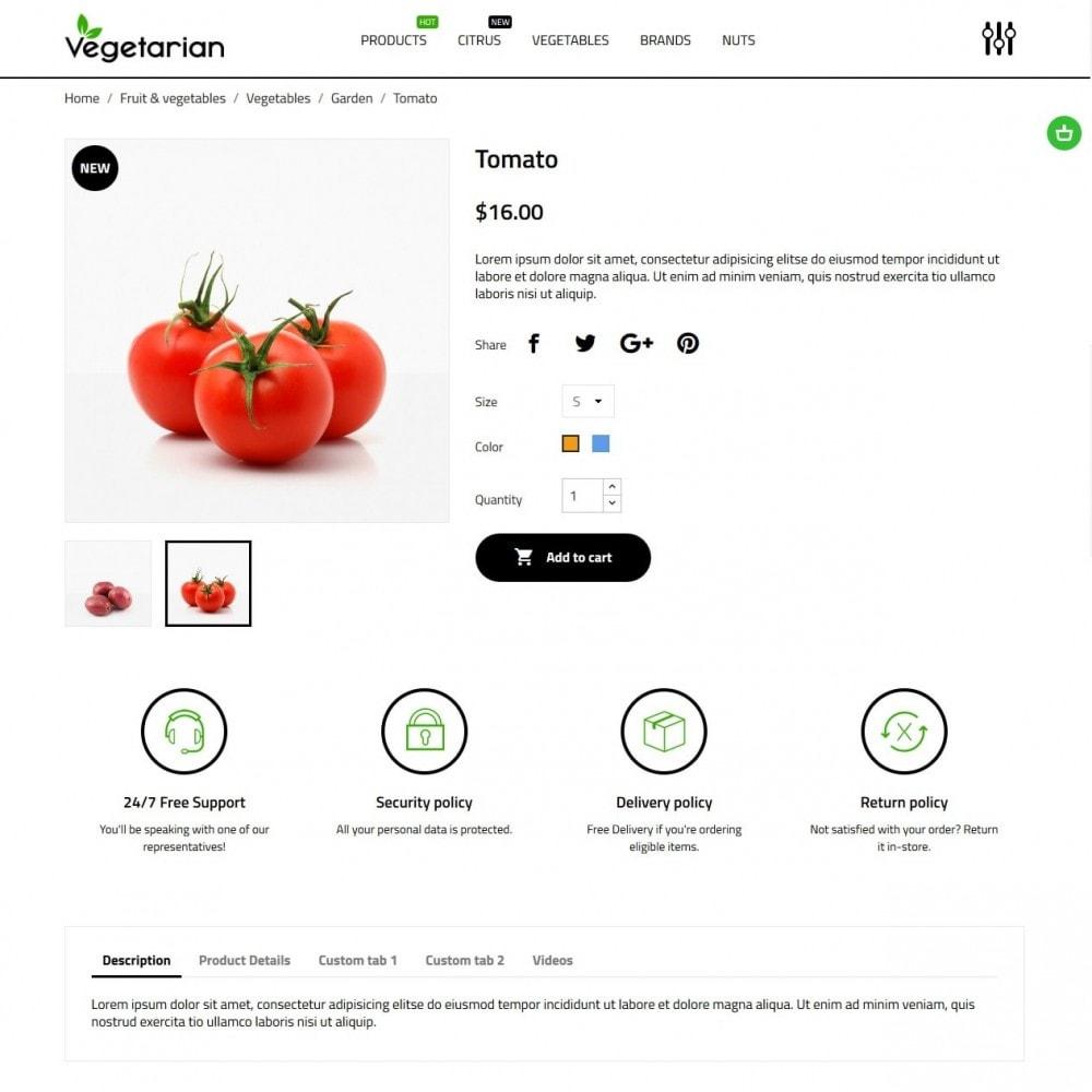 theme - Eten & Restaurant - Vegetarian - 6