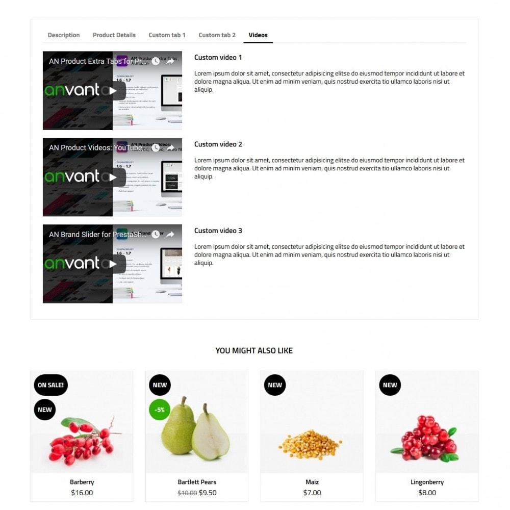 theme - Cibo & Ristorazione - Vegetarian - 9