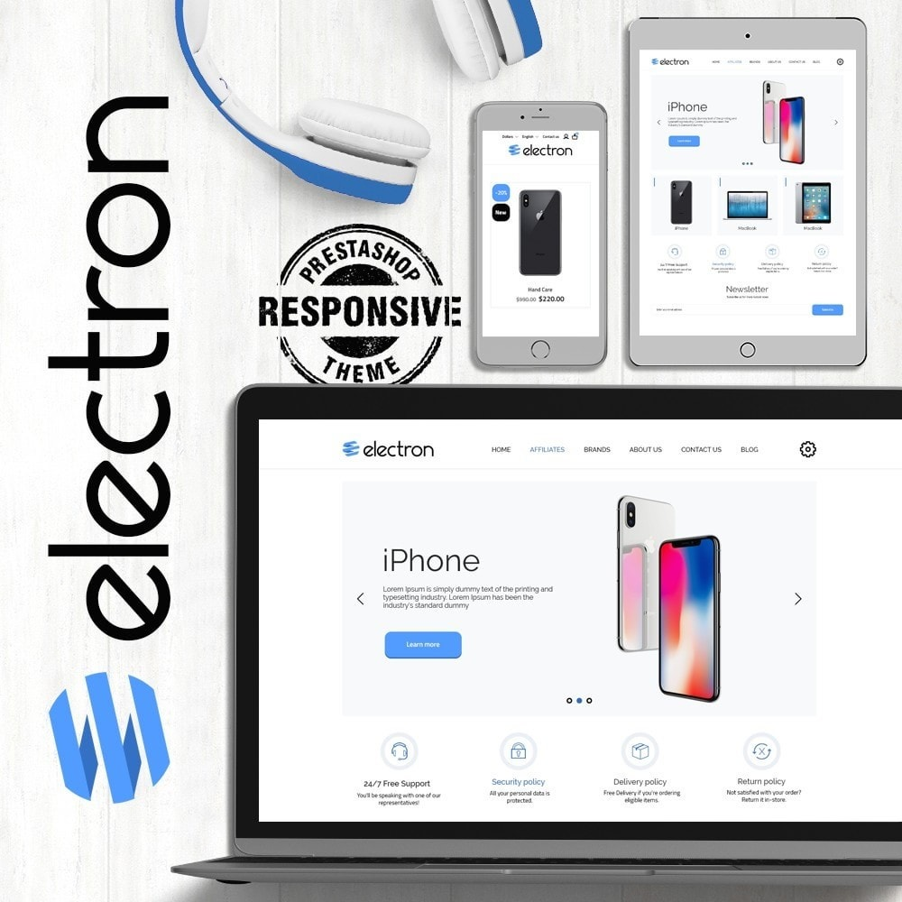 theme - Electronics & Computers - Electron - High-tech Shop - 1