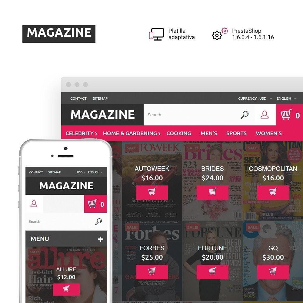 theme - Hogar y Jardín - Magazine - para Sitio de Revistas - 1