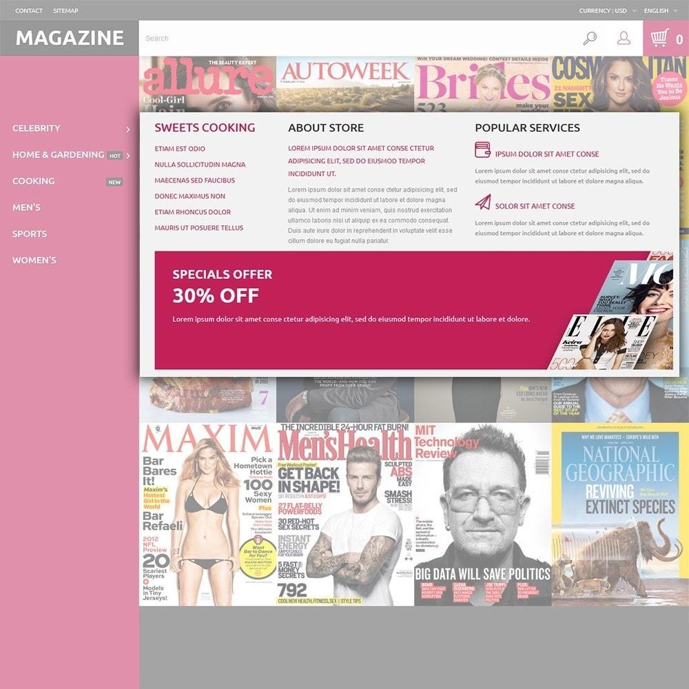 theme - Hogar y Jardín - Magazine - para Sitio de Revistas - 5