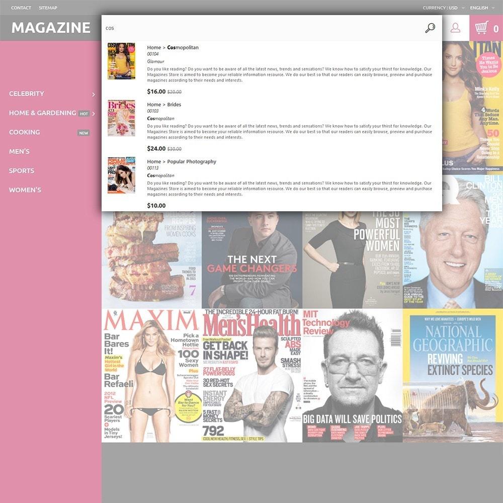 theme - Дом и сад - Magazine - шаблон на тему журнал - 6