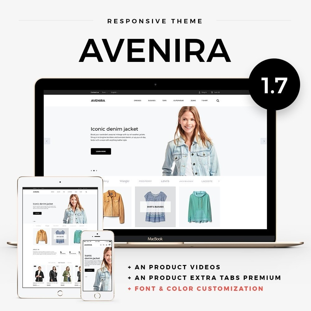theme - Moda & Calzature - Avenira Fashion Store - 1