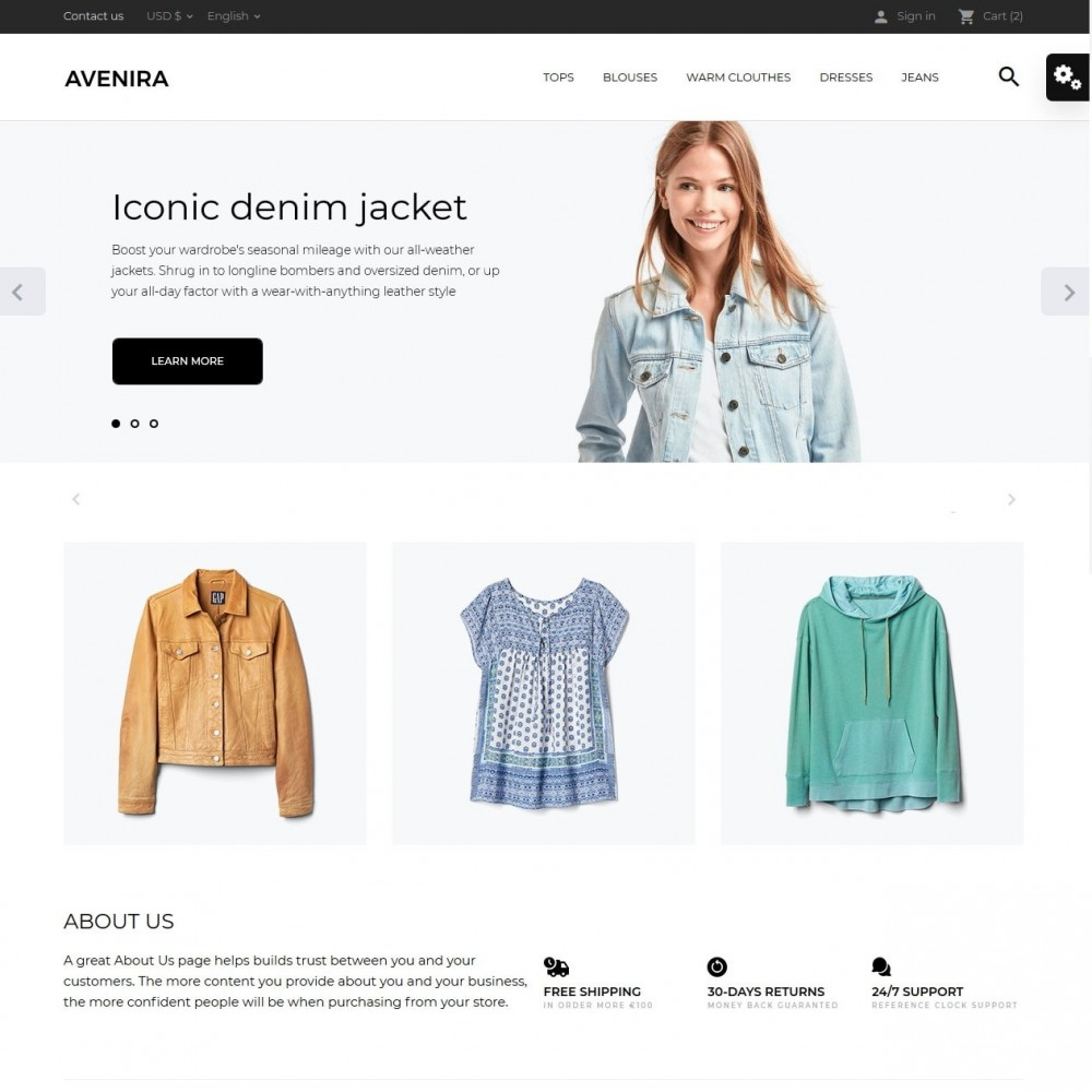 theme - Mode & Schoenen - Avenira Fashion Store - 2
