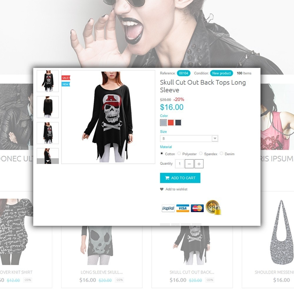 theme - Moda y Calzado - Rebel - 4