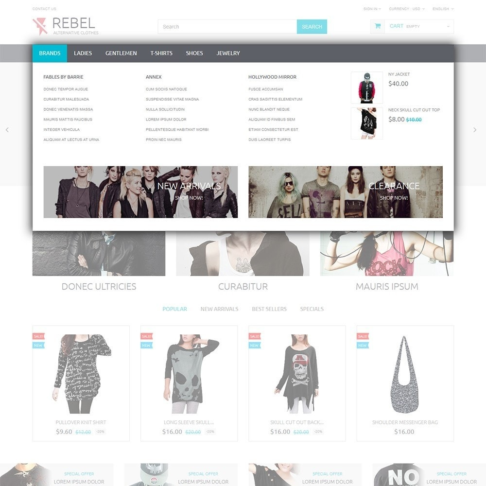 theme - Moda & Calzature - Rebel - 5