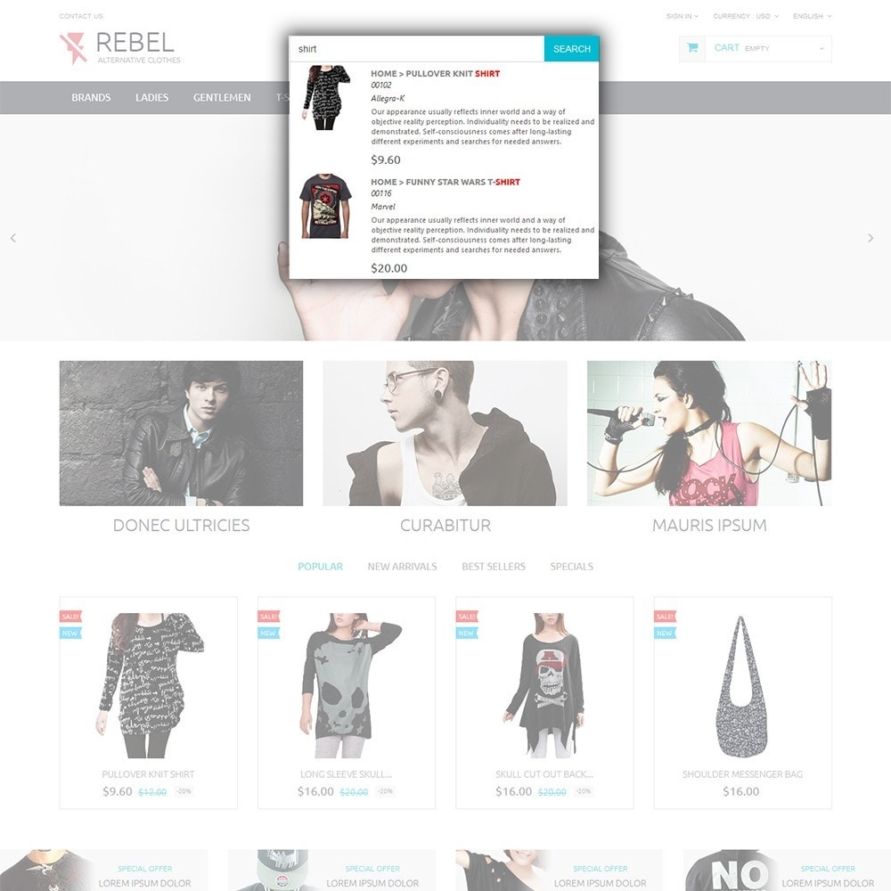 theme - Moda & Calzature - Rebel - 6