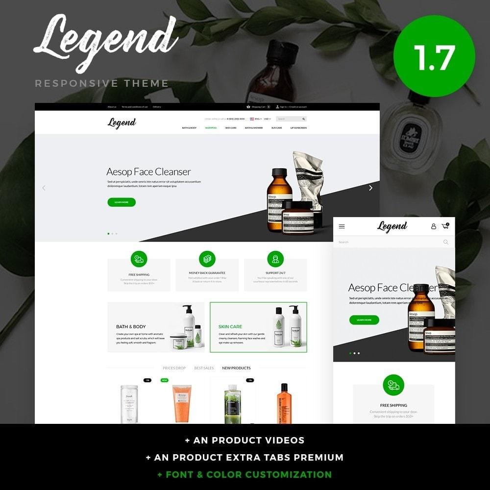 theme - Zdrowie & Uroda - Legend Cosmetics - 1