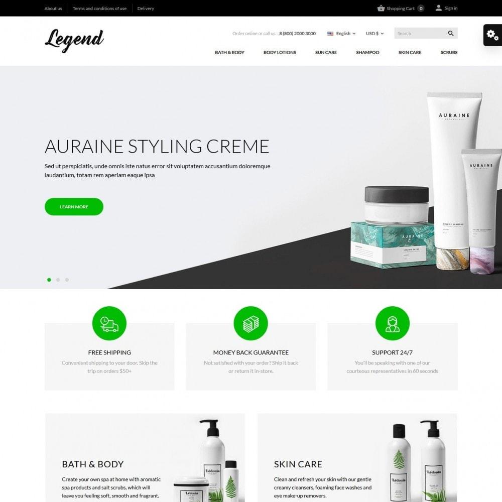 theme - Здоровье и красота - Legend Cosmetics - 2