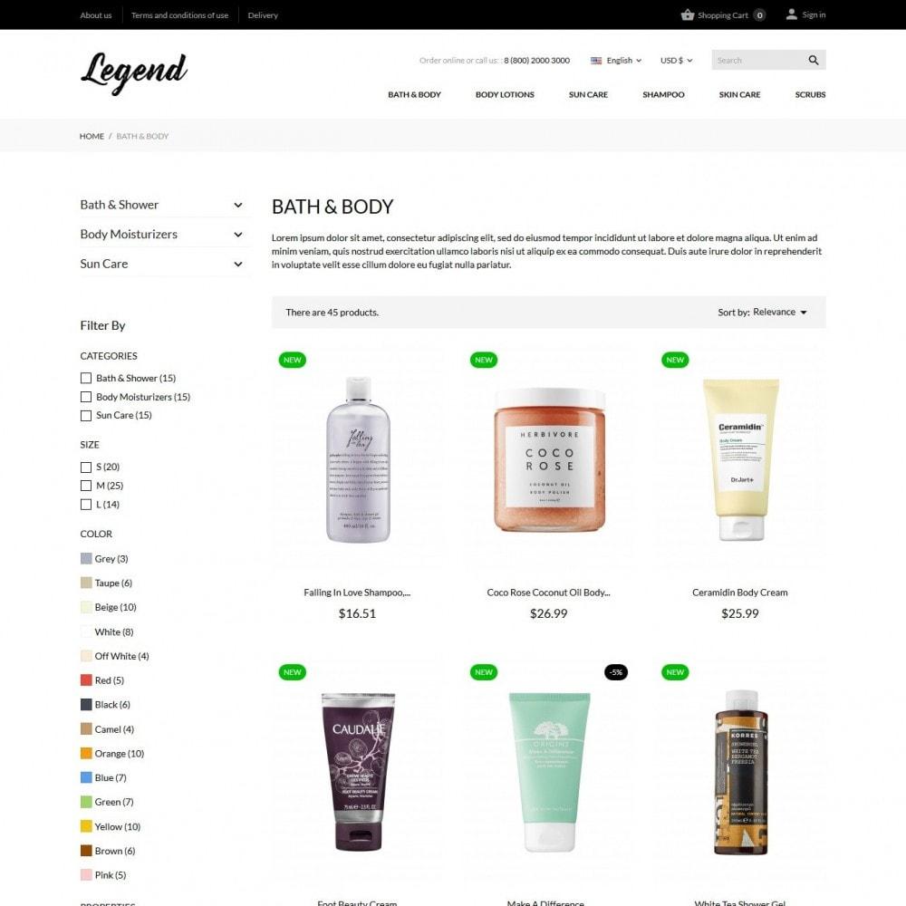 theme - Zdrowie & Uroda - Legend Cosmetics - 5